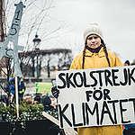 """Fridays for Future"" Climate Demonstration in Stockholm. © Jana Eriksson"