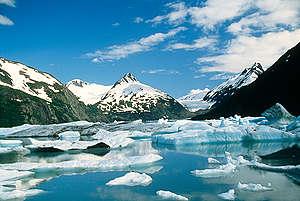 Portage glacier, Portage, Alaska, USA. © Robert Visser
