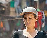 Victoria Koblenko Witnesses Plastic Pollution in Manila. © Jilson Tiu / Greenpeace