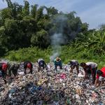 Plasticafval overspoelt Zuidoost-Azië