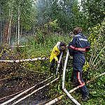 Greenpeace steunt Russische vrijwilligers in hun gevecht tegen bosbranden