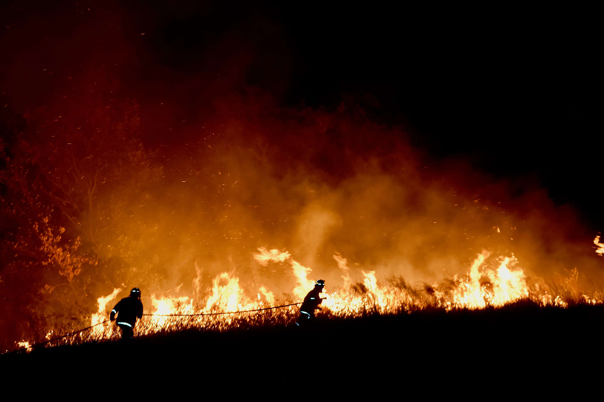 Bosbranden Australie