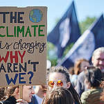 Global Climate Strike in Bratislava. © Richard Lutzbauer / Greenpeace