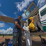 Wings of Emergency geeft corona noodhulp aan inheemse bewoners Amazone