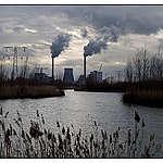 Amercentrale Essent Geertruidenberg the Netherlands. © Greenpeace / Bas Beentjes