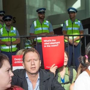 Greenpeace to hold protest training as OMV oil rig arrives in Taranaki