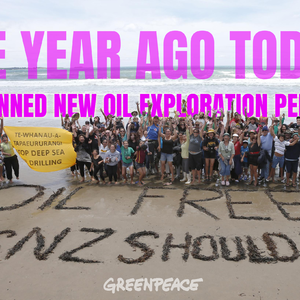 Calls for sweeping new climate policy on first oil banniversary