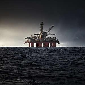 OMV oil rig