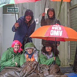 Greenpeace calls on OMV to leave NZ as blockade continues