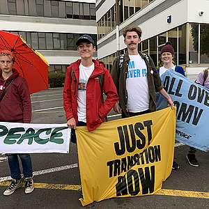 Climate protesters shut down New Plymouth oil giant