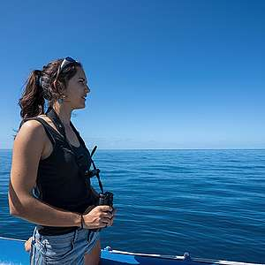 Solène Derville on her work studying seamounts and Humpback whales