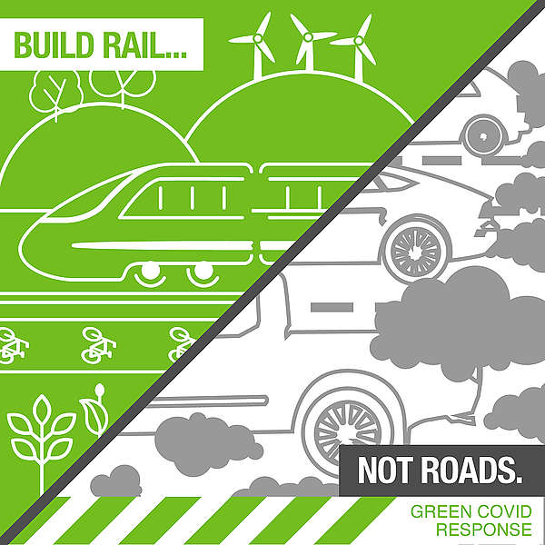 The Covid economic stimulus infrastructure package must build rail, not roads