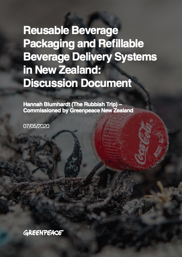 Reusable Beverage Packaging and Refillable Beverage Delivery Systems in New Zealand: Discussion Document