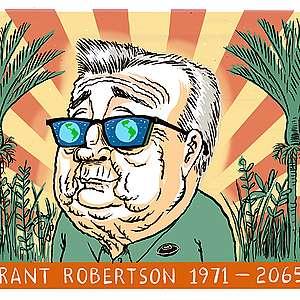 Grant Robertson 1971 - 2065 by Sharon Murdoch