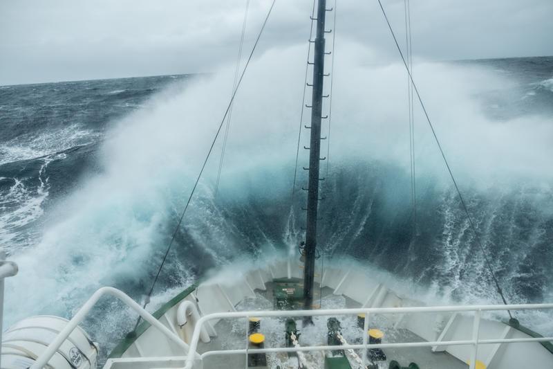 Arctic Sunrise, pole to pole tour, Atlantic ocean, sea sickness,