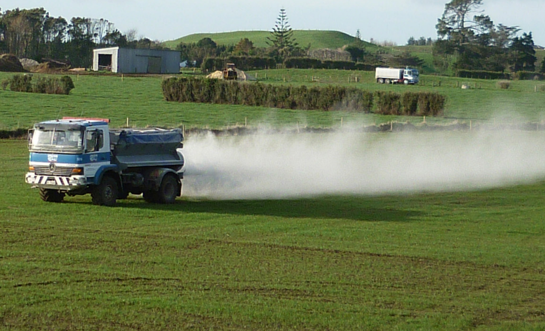Synthetic fertiliser emits more greenhouse gases than domestic aviation