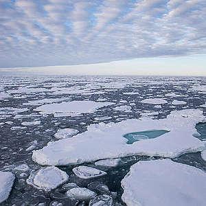 Arctic sea ice minimum reached September 15 2020