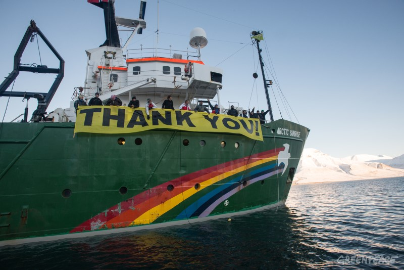 Thanks for the 2 million signatures for Saving the Arctic.