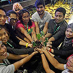National Youth Congress on Food, Nutrition and Ecological Agriculture in the Philippines. © Vincent Go / Greenpeace