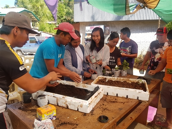 Sitio Garrison Organic Farming demo