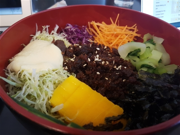 The Vegetarian Kitchen's Bibimbap
