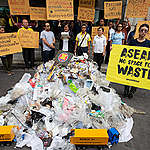 ASEAN: No Space For Waste Activity in Bangkok. © Wason Wanichakorn / Greenpeace
