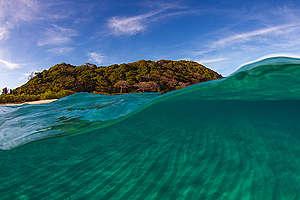 An Island near Coron in Palawan. © Steve De Neef