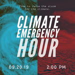Share the Climate Emergency Hour event page
