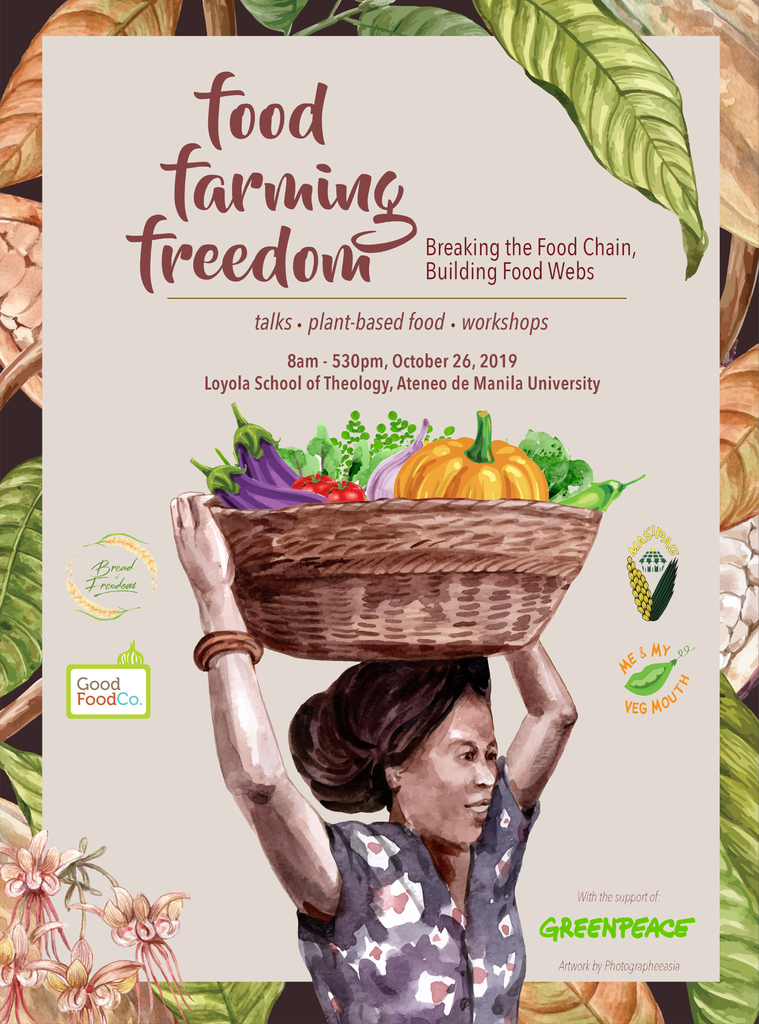 Food Farming Freedom event poster