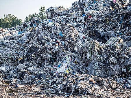 Wysypisko odpadów w Zgierzu