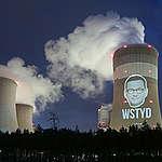 Projekcia na elektrowni Bełchatów