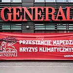 Greenpeace wzywa Generali do pożegnania się z węglem – bez wyjątków