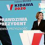 Aktywiści klimatyczni na konwencji Małgorzaty Kidawy-Błońskiej