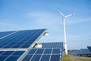"""Energy Community """"Saerbeck"""" in North Rhine-Westfalia. © Bente Stachowske  / Greenpeace"""
