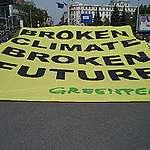 Activiștii Greenpeace, mesaj pentru liderii europeni, la Sibiu