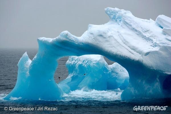 Led na Antarktiki