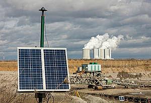 Lignite Open Pit Mining Schleenhain in Saxony. © Paul Langrock / Greenpeace