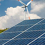 Renewable Energy Farm in Germany. © Paul Langrock / Zenit / Greenpeace