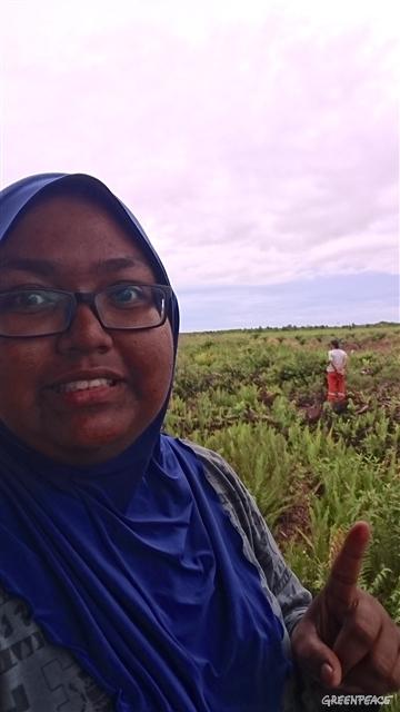 MY volunteer Sakeenah Binti
