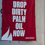 Direct Action at Wilmar Refinery in North Sulawesi. © Jurnasyanto Sukarno / Greenpeace