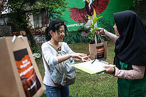 International Day of Forests in Jakarta. © Jurnasyanto Sukarno / Greenpeace