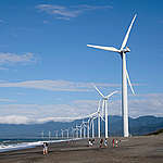 Wind Farm in Ilocos Norte. © Veejay Villafranca / Greenpeace