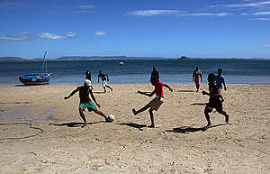 Children in Madagascar. © Jiri Rezac / Greenpeace