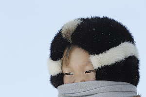 Indigenous Child in Western Siberia. © Denis Sinyakov / Greenpeace