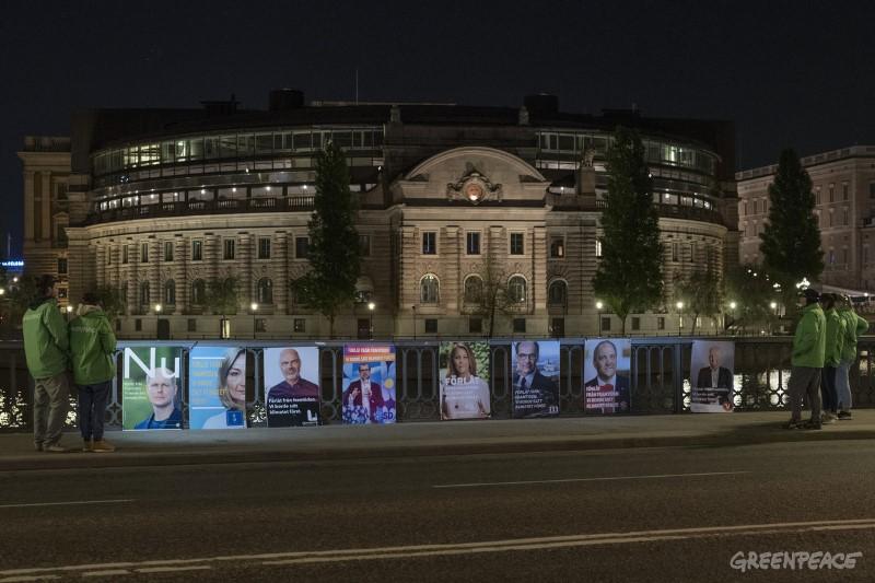 Riksdagspartierna ber om ursäkt från framtiden