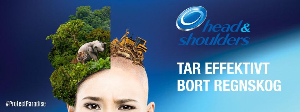 Mejla Head & Shoulders och säg till dem att göra sina produkter tiger- och skogsvänliga