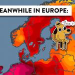 Värmerekord i Paris – hela två grader över det gamla rekordet