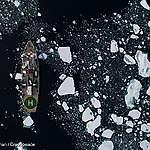 Klimatkrisen: Havsisens utbredning i Arktis än en gång rekordlåg