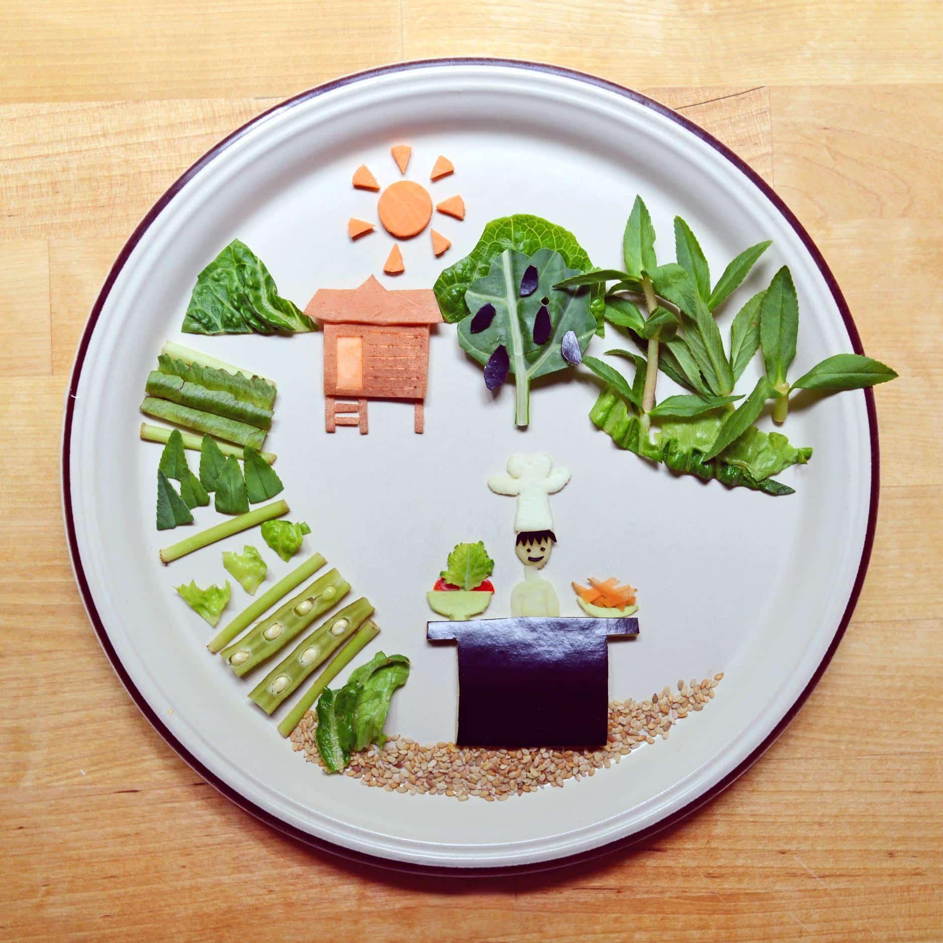 Food Art Work von Instagram food artist and enthusiast Ida Skivenes (IdaFrosk)