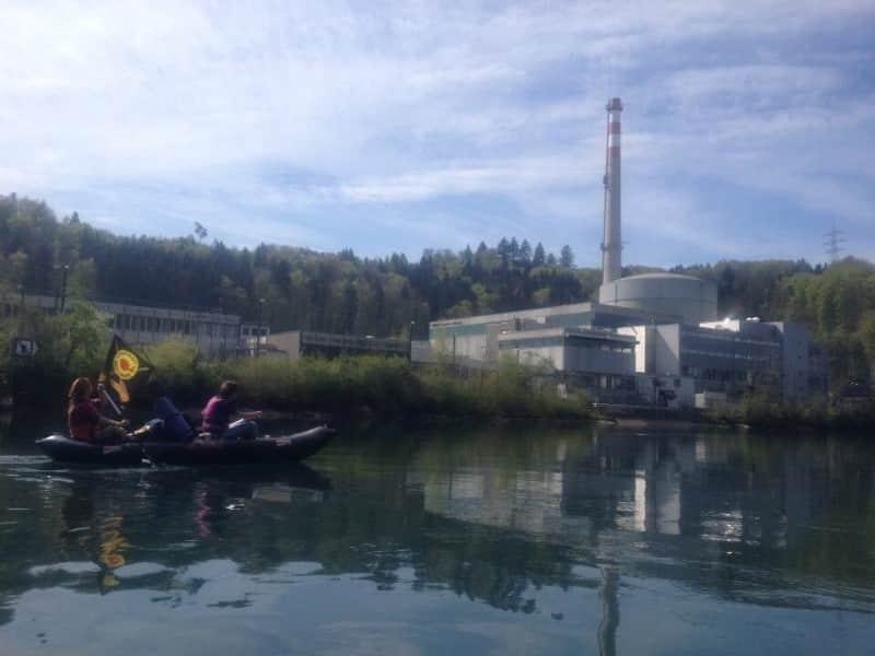 Mit Kanukraft gegen Atomkraftwerke!